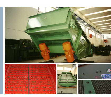Unidirectional Vibrating Screen